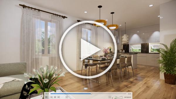 3D Architektur Videoanmimation vorschaubild