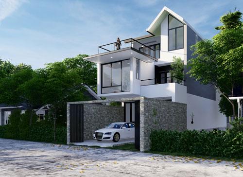 Gebäudevisualisierung Logical4S 09 SD